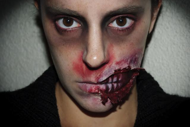 Maquillaje Halloween 5 Zombie FX efectos especiales