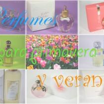 Perfumes para la primavera y el verano Silvia Quiros SQ Beauty