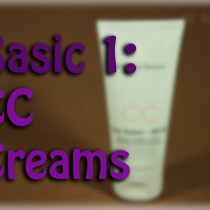Básicos 1 CC creams basics Silvia Quiros SQ Beauty