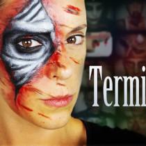 Maquillaje Terminator makeup special effects efectos especiales Silvia Quiros