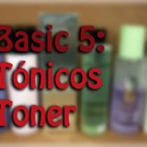 Básicos 5 Tónicos, Basics Toner, Silvia Quiros SQ Beauty