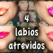 4 Labios atrevidos estilo Ombre lips makeup Silvia Quiros