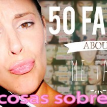50 cosas sobre me tag Silvia Quiros SQ Beauty