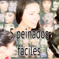 5 peinados fáciles para cada día easy every day hairstyle Silvia Quiros