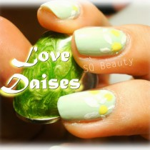 Nail Friday Daises manicura manicure Silvia Quiros SQ Beauty