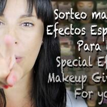 Sorteo Material Efectos Especiales Silvia Quiros Special effects makeup giveaway