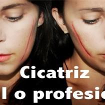 Maquillaje Halloween Cicatriz fáciles o profesionales special effects makeup scars Silvia Quiros