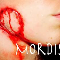 Maquillaje efectos especiales Mordisco Bite wound special effect makeup Silvia Quiros