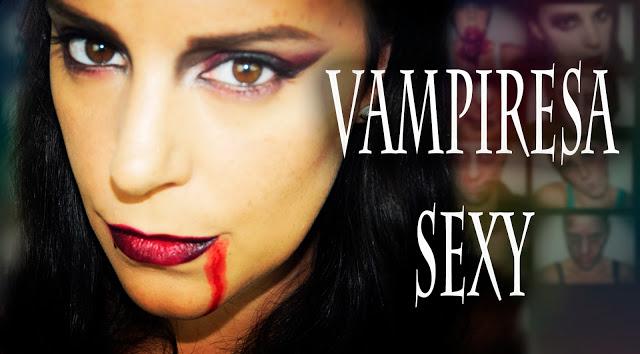 Halloween Makeup Sexy Vampire
