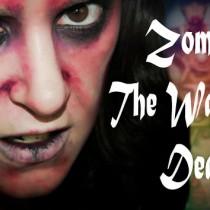 Maquillaje Halloween Zombie The Walking Dead Silvia Quiros makeup