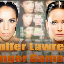 Tutorial maquillaje Jennifer Lawrence En llamas, Catching fire makeup, Silvia Quiros