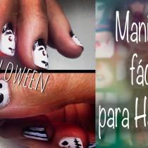 Tutorial Manicura Halloween manicure Silvia Quiros