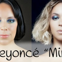 Maquillaje Beyoncé vídeo Mine, Beyoncé Mine video makeup look