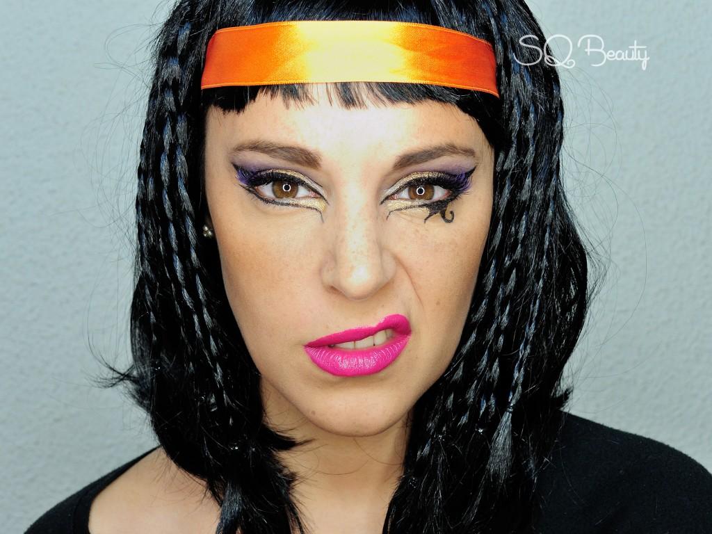 Maquillaje Egipcio Katy Perry en Dark Horse