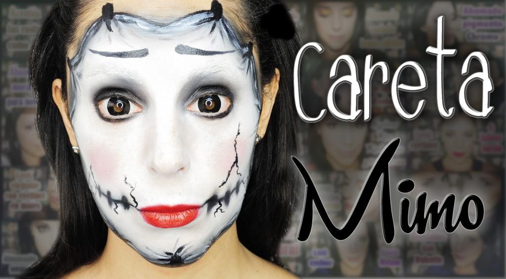 Mask mime makeup