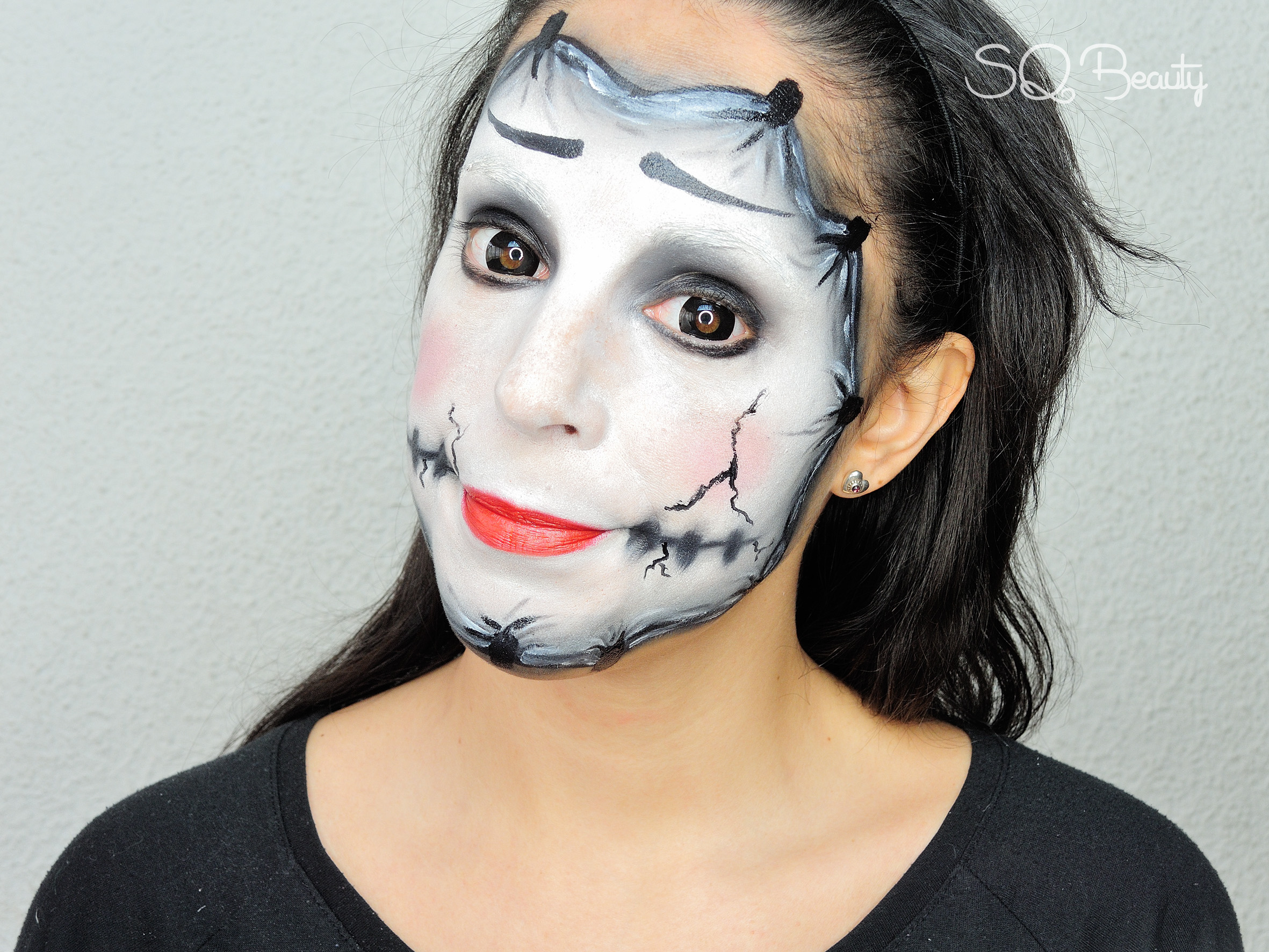 maquillaje disfraz de mimo