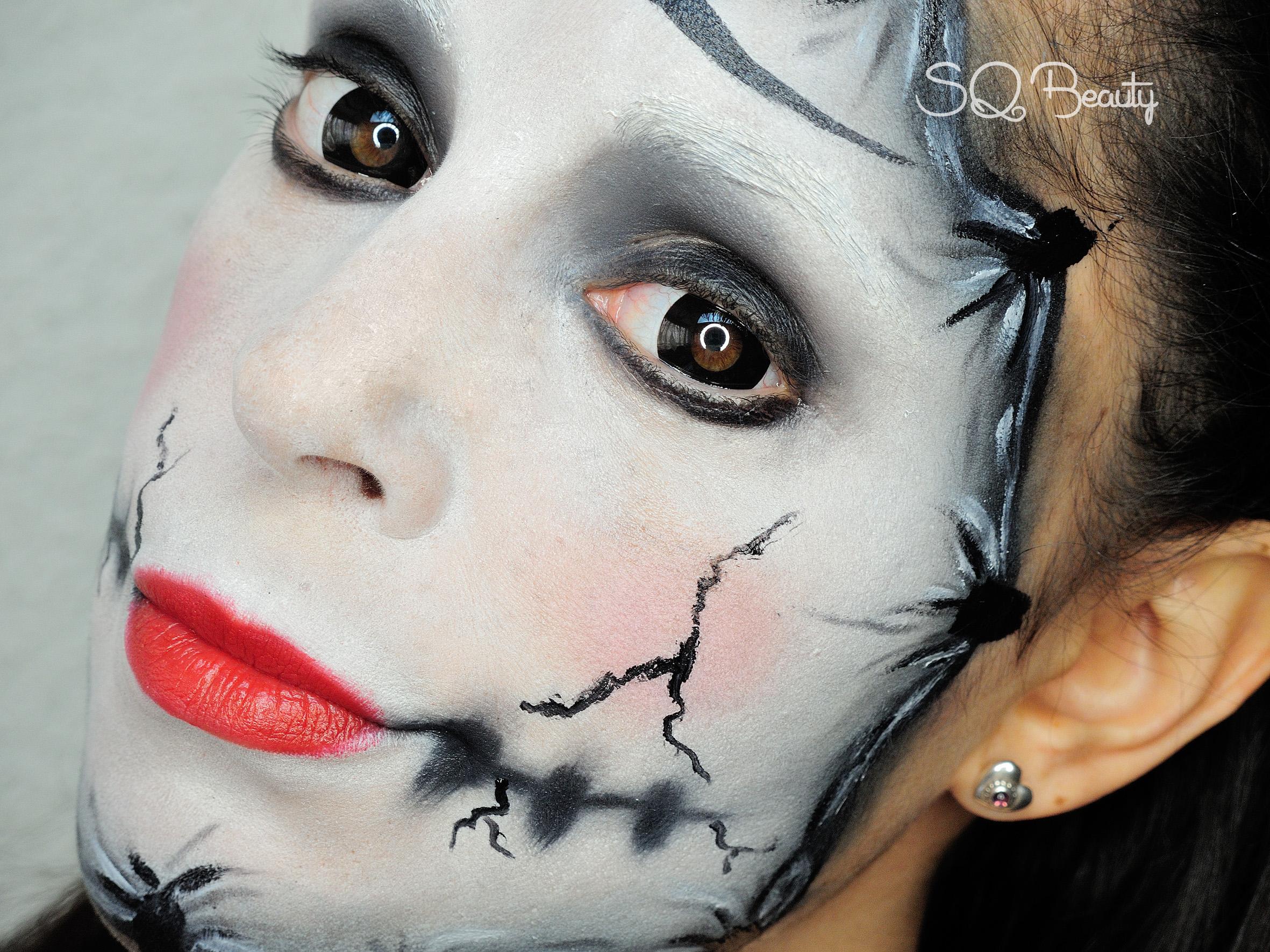 Happy Mime Makeup Mask mime makeup - silvia quirós
