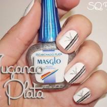 Nail Friday Jugando en Plata manicura manicure Silvia Quiros SQ Beauty