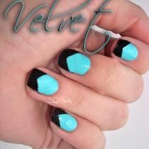 Nail Friday Caviar & Velvet