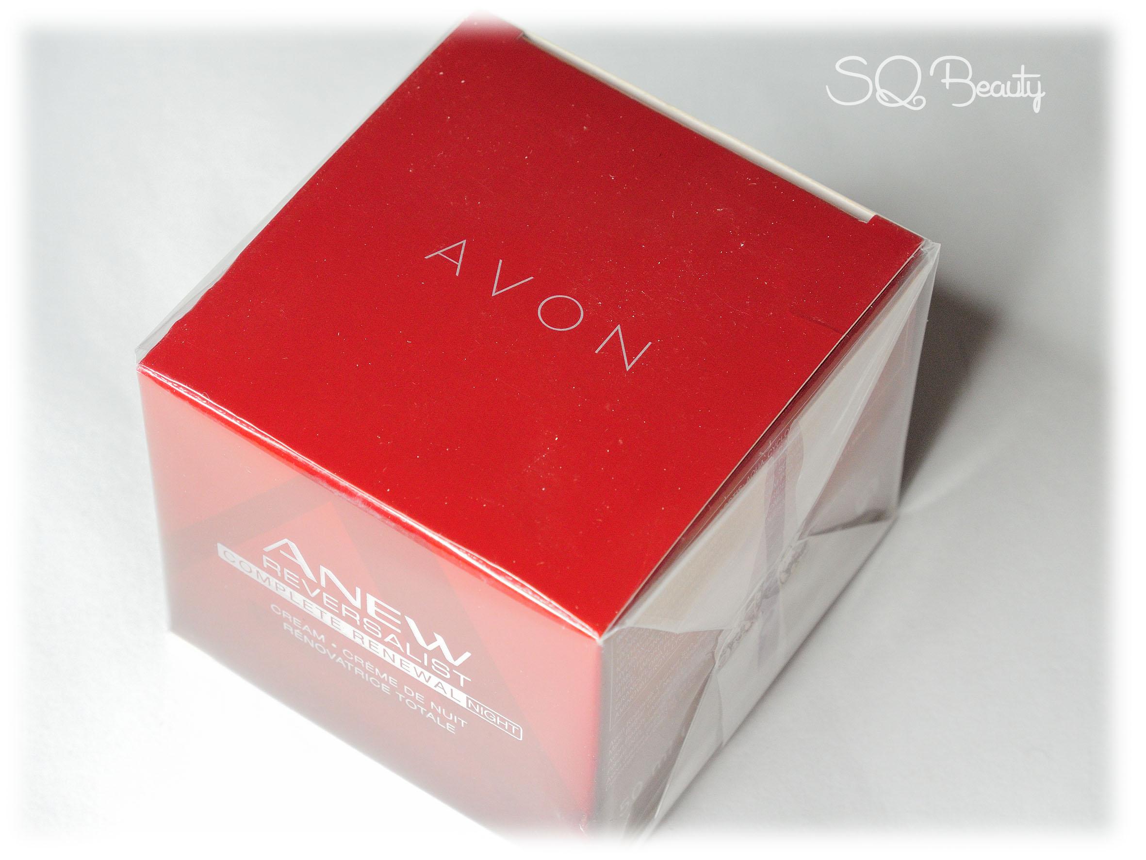 Avon Anew +40 Silvia Quiros SQ Beauty