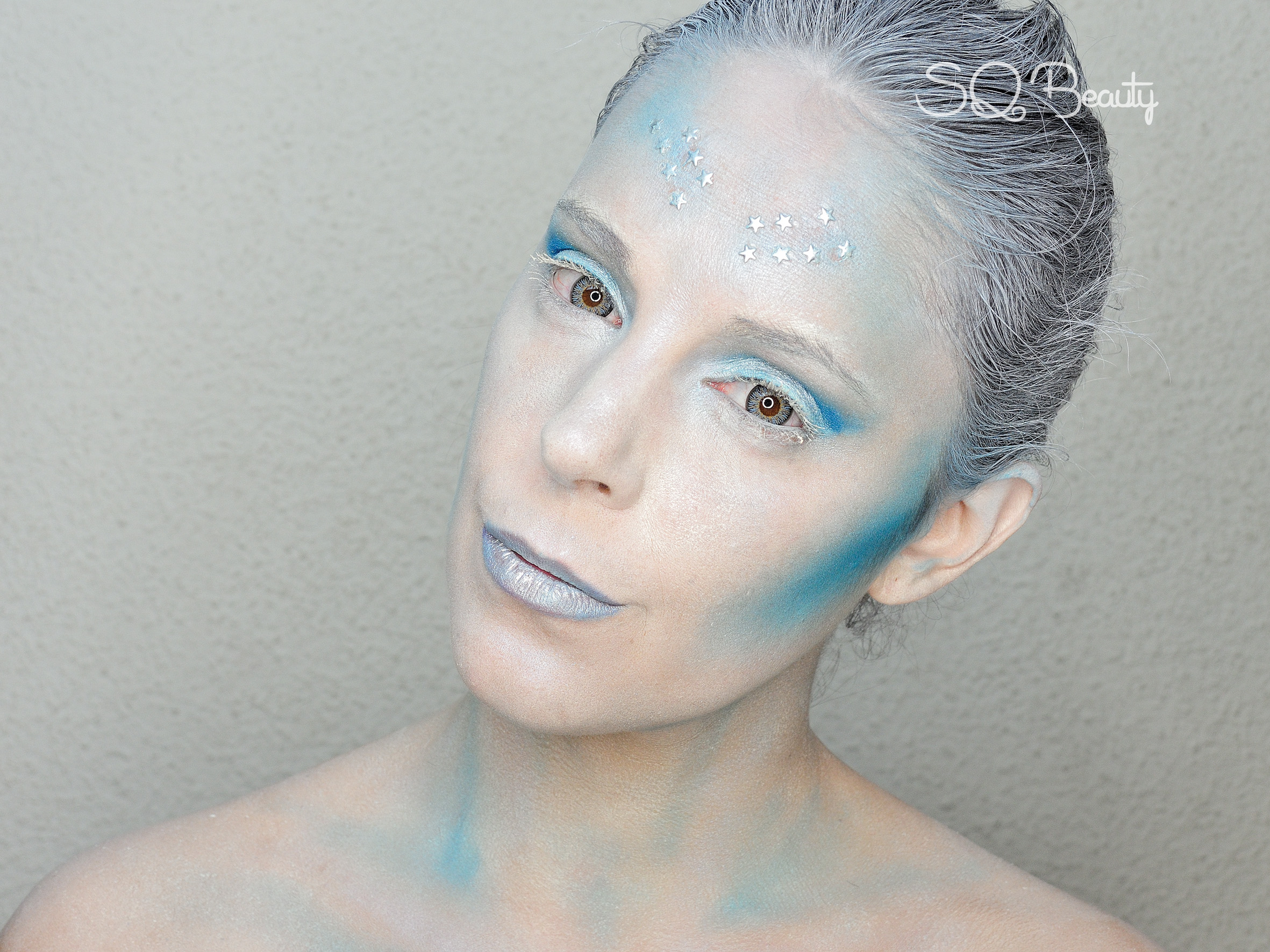 Maquillaje Reina del Invierno Winter Queen Makeup Silvia Quiros SQ Beauty