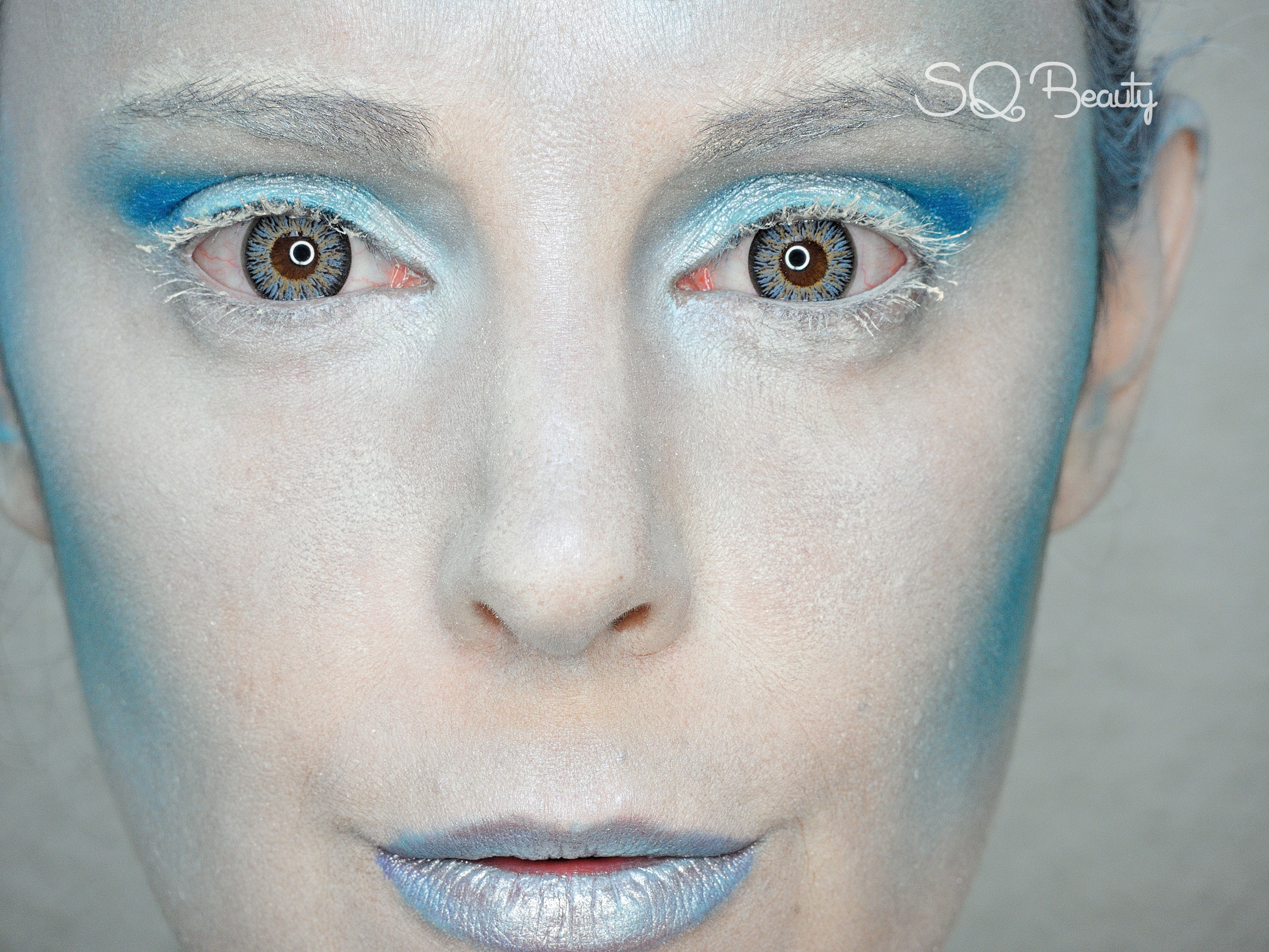 Maquillaje Reina del Invierno Winter Queen Makeup Silvia Quiros SQ Beauty