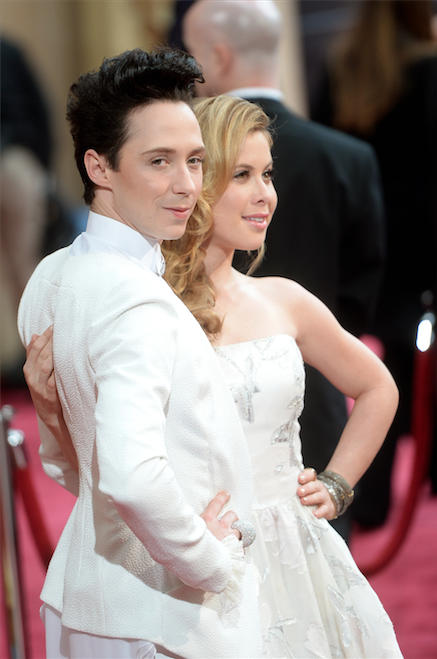 Johnny GWeir y Tara Lipinski