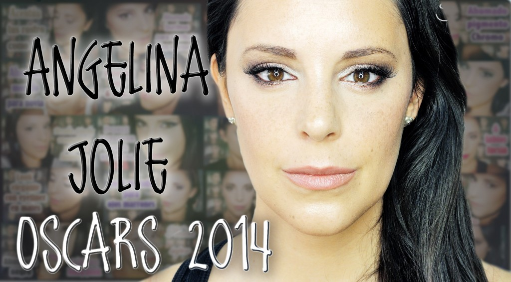 Sexy eyes Angelina Jolie Oscars 2014 makeup