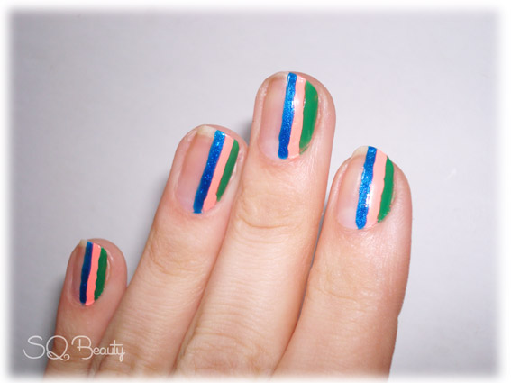 Nail Friday Manicura detalle de color