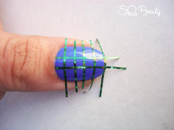 Nail Friday Cuadrados simétricos manicura