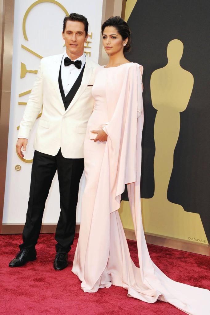 Matthew McConaughey y Camila Alves de Gabriela Cadenas