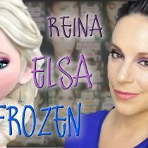 Maquillaje y peinado Reina Elsa de Frozen