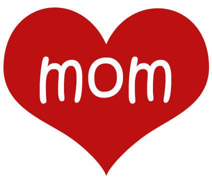 Regalos del día de la madre con corazón