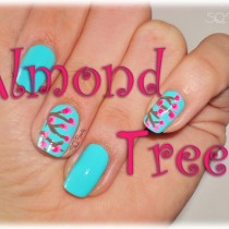 Nail Friday Almond Tree Manicure