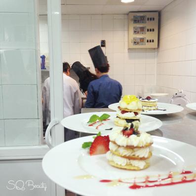 Tarde en la cocina del restaurante M29