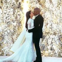 Boda de Kim Kardashian detalles de su look