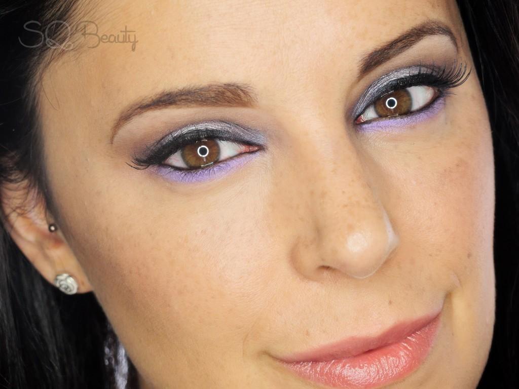 Maquillaje acentúa ojos marrones