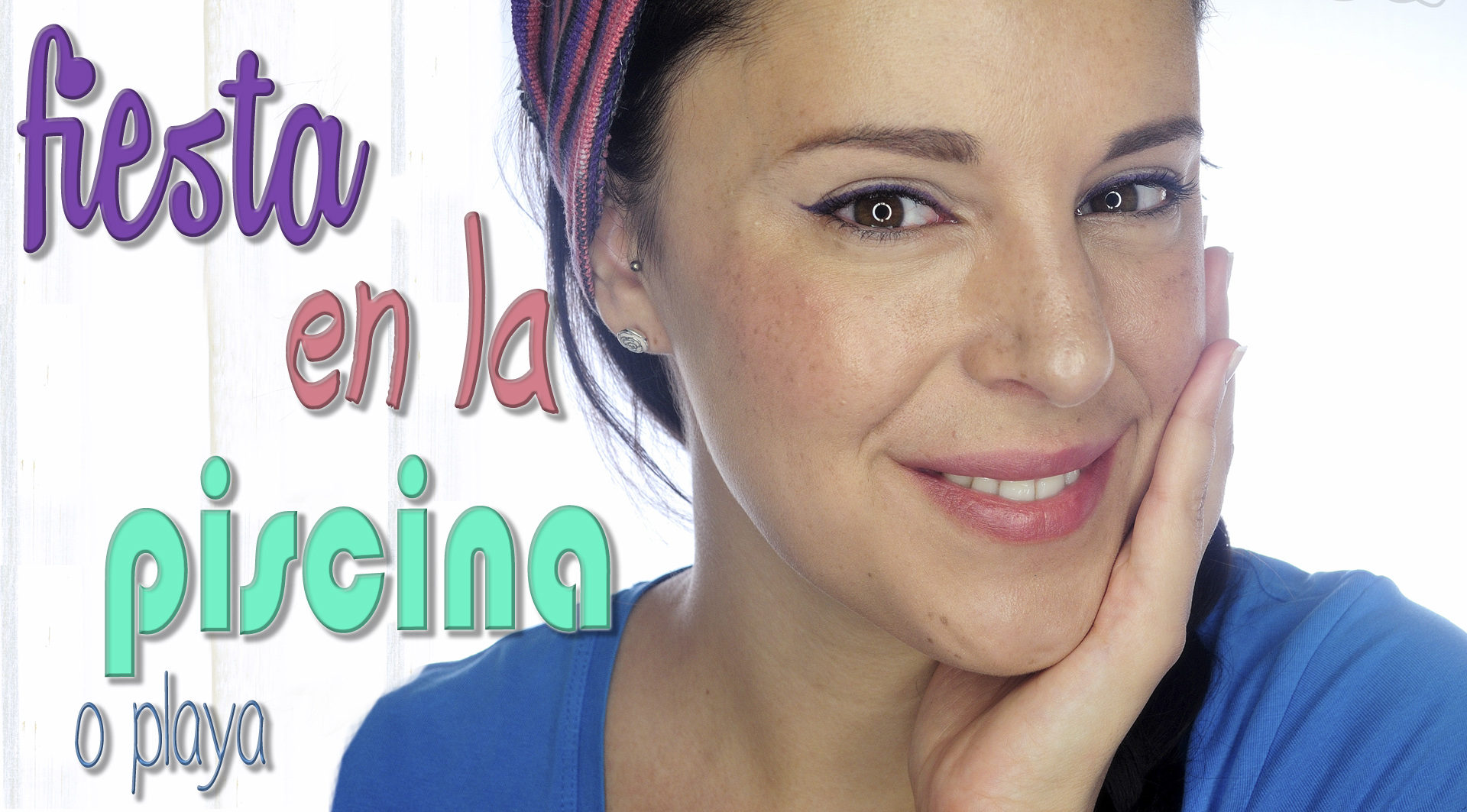 Party pool or beach night time makeup silvia quir s for En la piscina