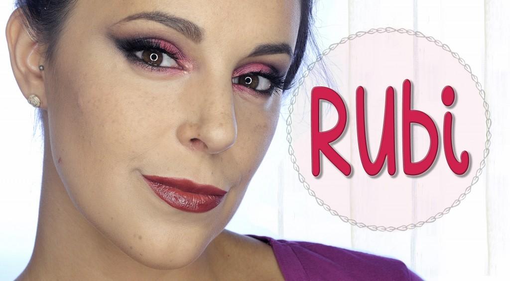 Maquillaje Rubí, serie piedras preciosas