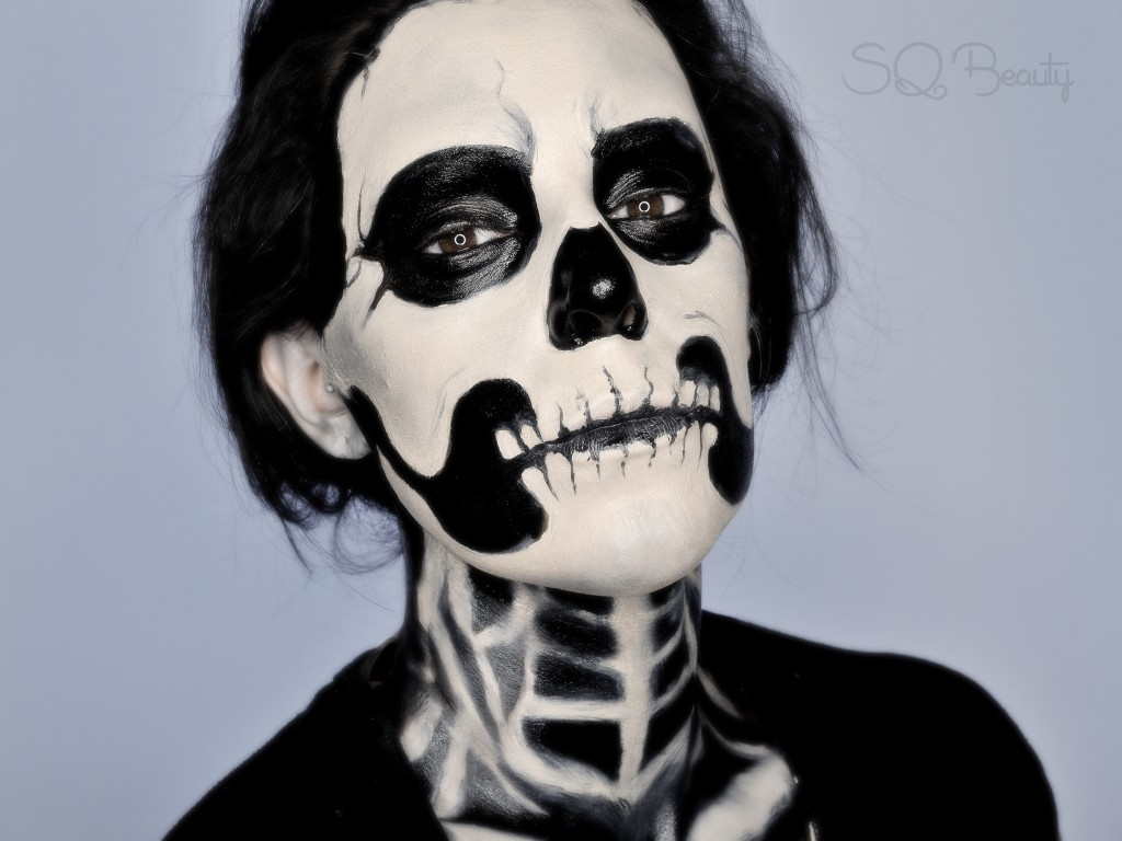 Maquillaje Halloween Esqueleto tutorial