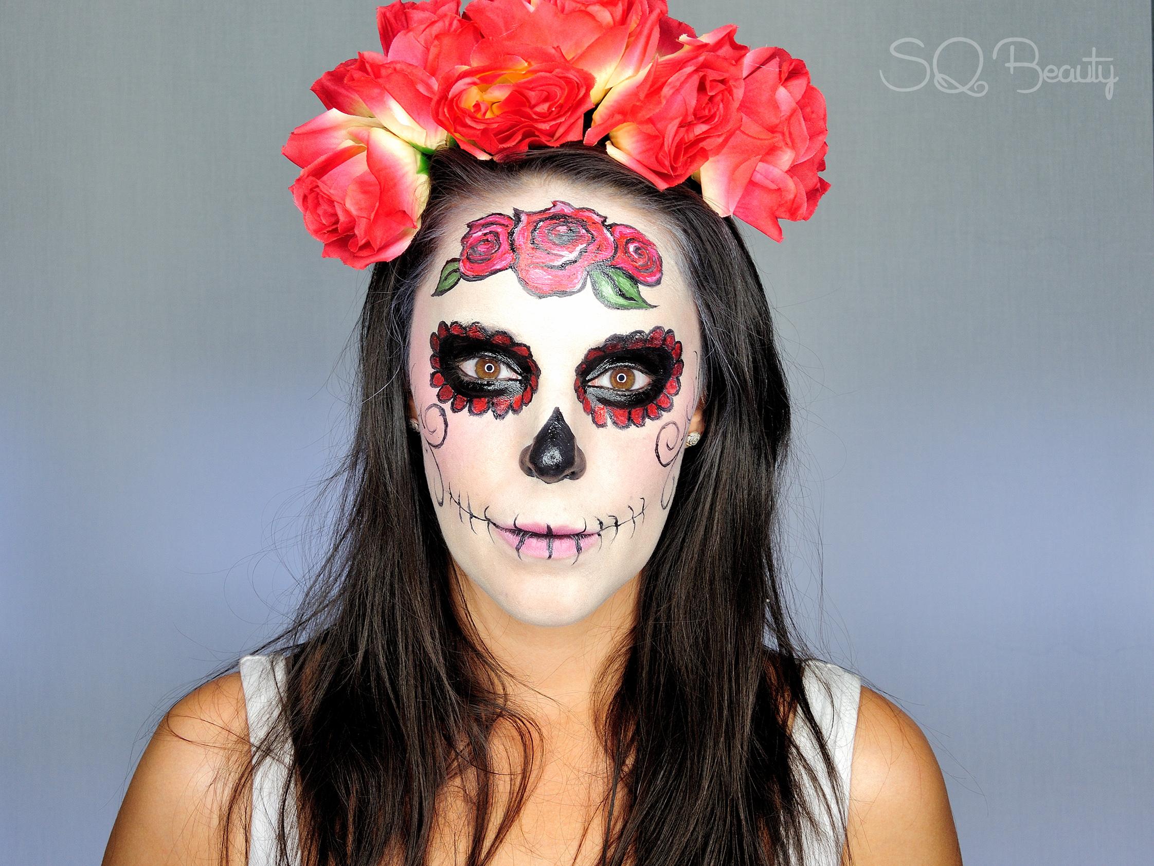 Maquillaje Catrina Mexicana Elegante Silvia Quir