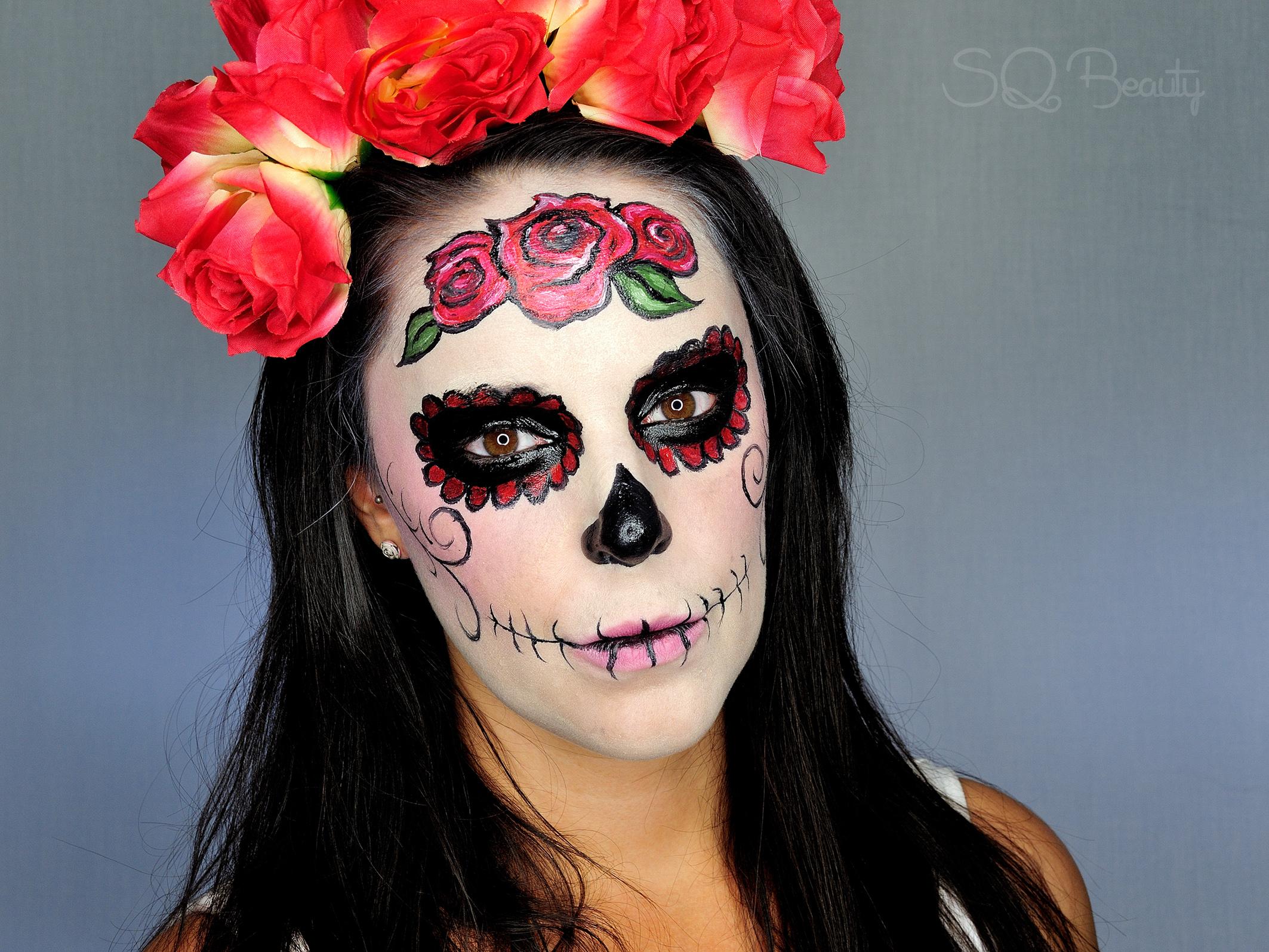 maquillaje de la catrina mexicana
