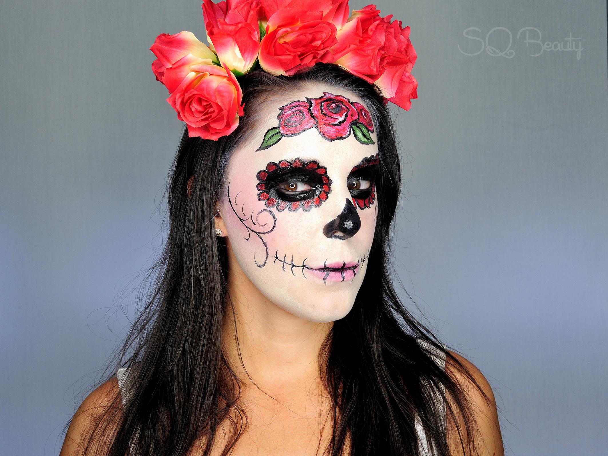 Maquillaje Catrina Mexicana Elegante Silvia Quirós