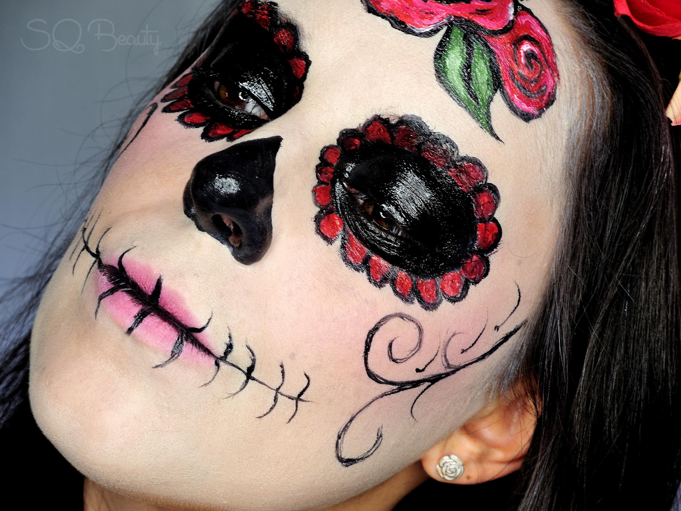 Maquillaje Halloween Catrina elegante - Silvia Quirós