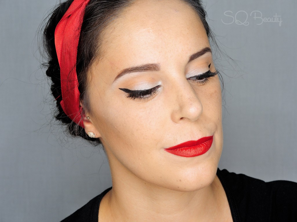 Maquillaje Clásico Pin up