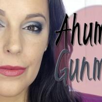 Maquillaje ahumado en GunMetal