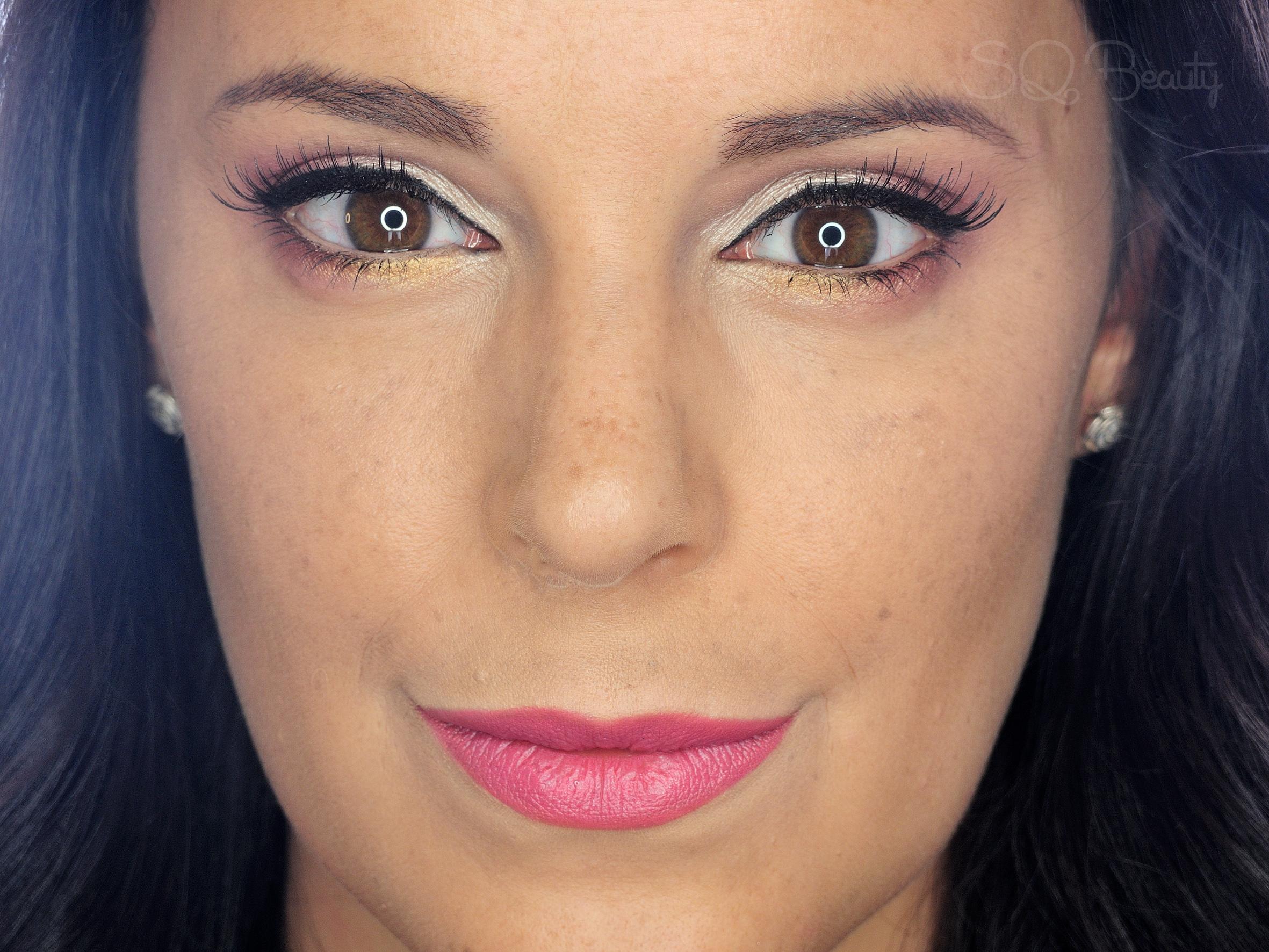 Maquillaje dulce suave en rosas tutorial