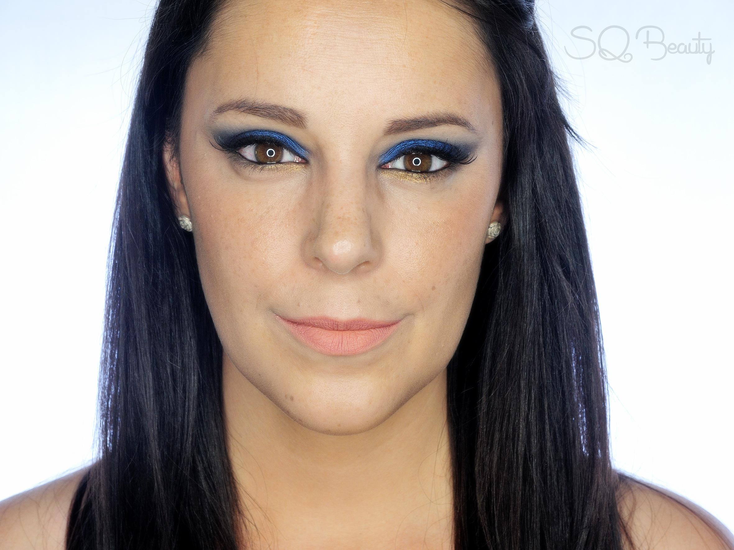 Maquillaje Zafiro serie piedras preciosas