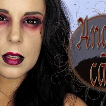 Tutorial Maquillaje Halloween Ángel Caído