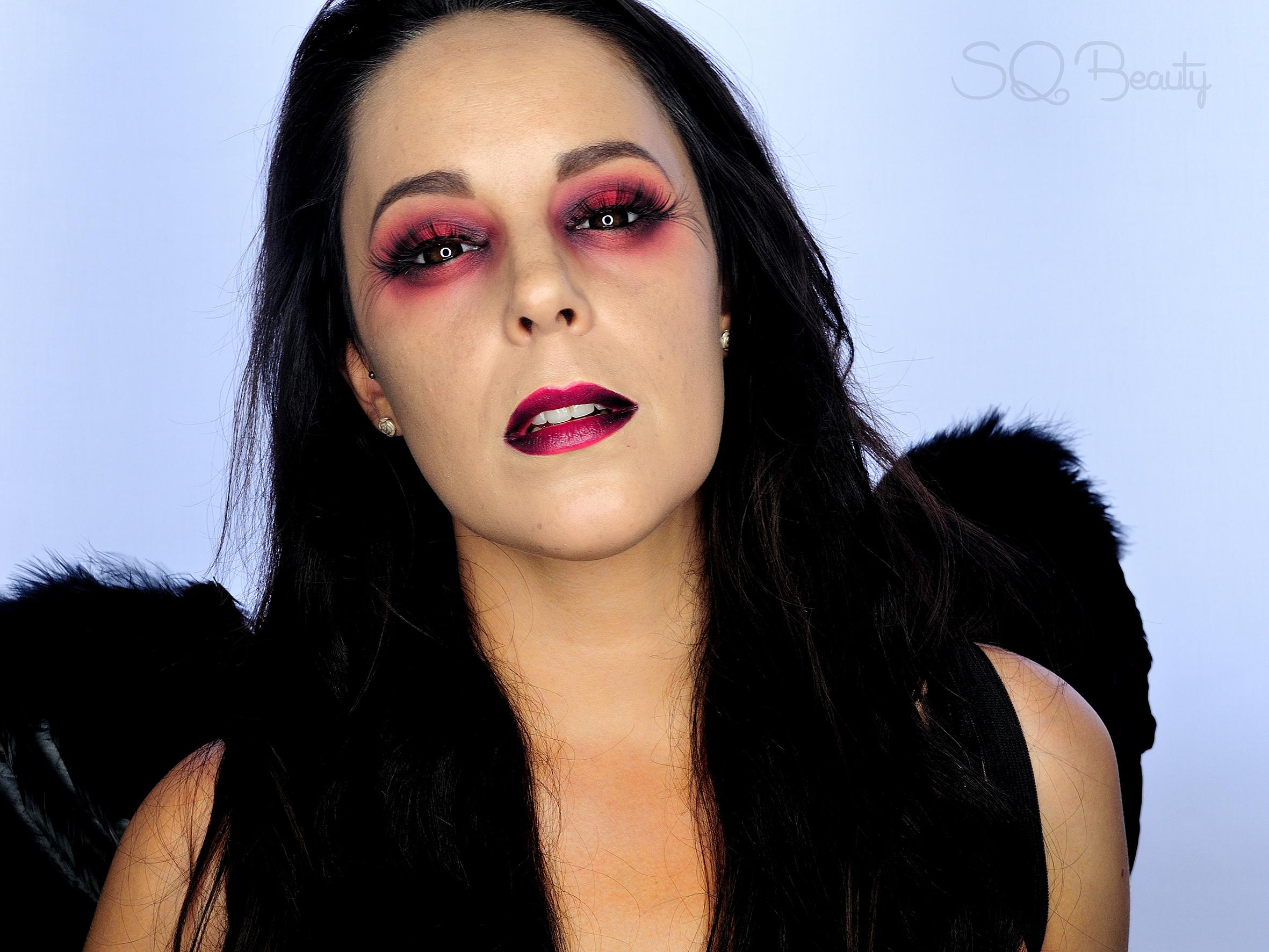 Tutorial Maquillaje Halloween u00c1ngel Cau00eddo - Silvia Quiru00f3s